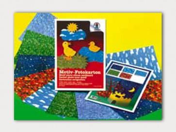 χαρτόνια κανσόν με πολύχρωμα σχέδια από τη φύση