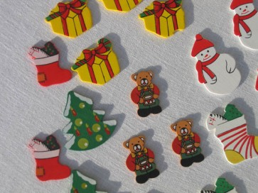 Ξύλινα χριστουγεννιάτικα διακοσμητικά