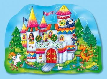 Χάρτινο puzzle – «Το μαγικό κάστρο»
