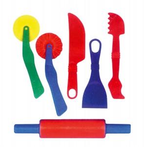 Εργαλεία ζαχαροπλαστικής για πλαστελίνη