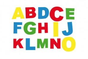 """Σφραγίδες """"Λατινικό Αλφάβητο"""""""