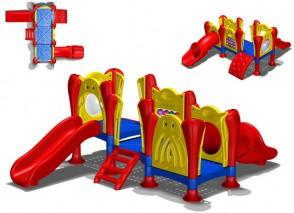 Παιχνίδι-παιδική χαρά Space Game Slide