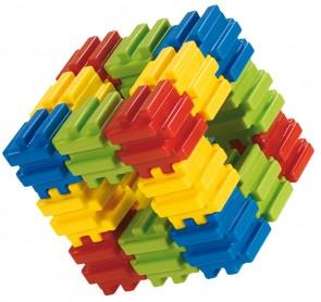 PLAYCUBE Πολυβραβευμένο παιχνίδι από 48 μαλακά κομμάτια.
