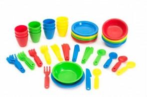72  κομμάτια μαχαίρια ,πιρούνια .κουτάλια, πιάτα μπολ ποτήρια