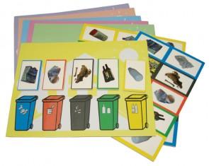 Μαγνητικό παιχνίδι: Ανακύκλωση -Μαθαίνω να ξεχωρίζω τα σκουπίδια