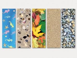 Χαρτόνια κανσόν με μοτίβα από τη φύση