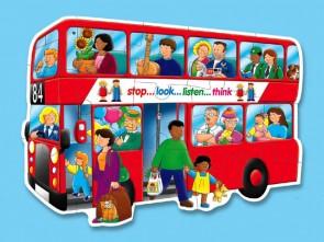 Χάρτινο puzzle – «Λεωφορείο»