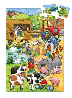 """Puzzle """"Φάρμα των ζώων"""""""