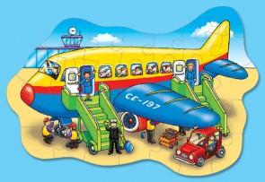 Χάρτινο puzzle – «Μεγάλο αεροπλάνο»