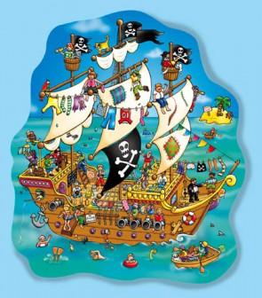 Χάρτινο puzzle – «Το καράβι των πειρατών»