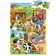 Χάρτινο puzzle – «Η μεγάλη φάρμα»