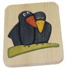 Ξύλινο puzzle – Κοράκια