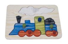 Ξύλινο puzzle – Τρένο