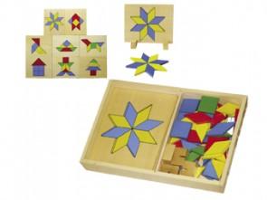 Ξύλινα γεωμετρικά σχήματα